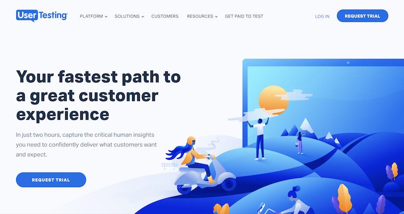 herramientas de analítica web UserTesting