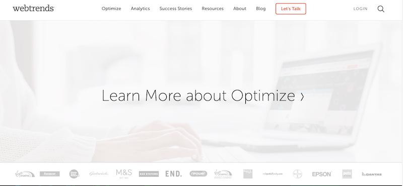 herramientas de analítica web WEBTRENDS ANALYTICS