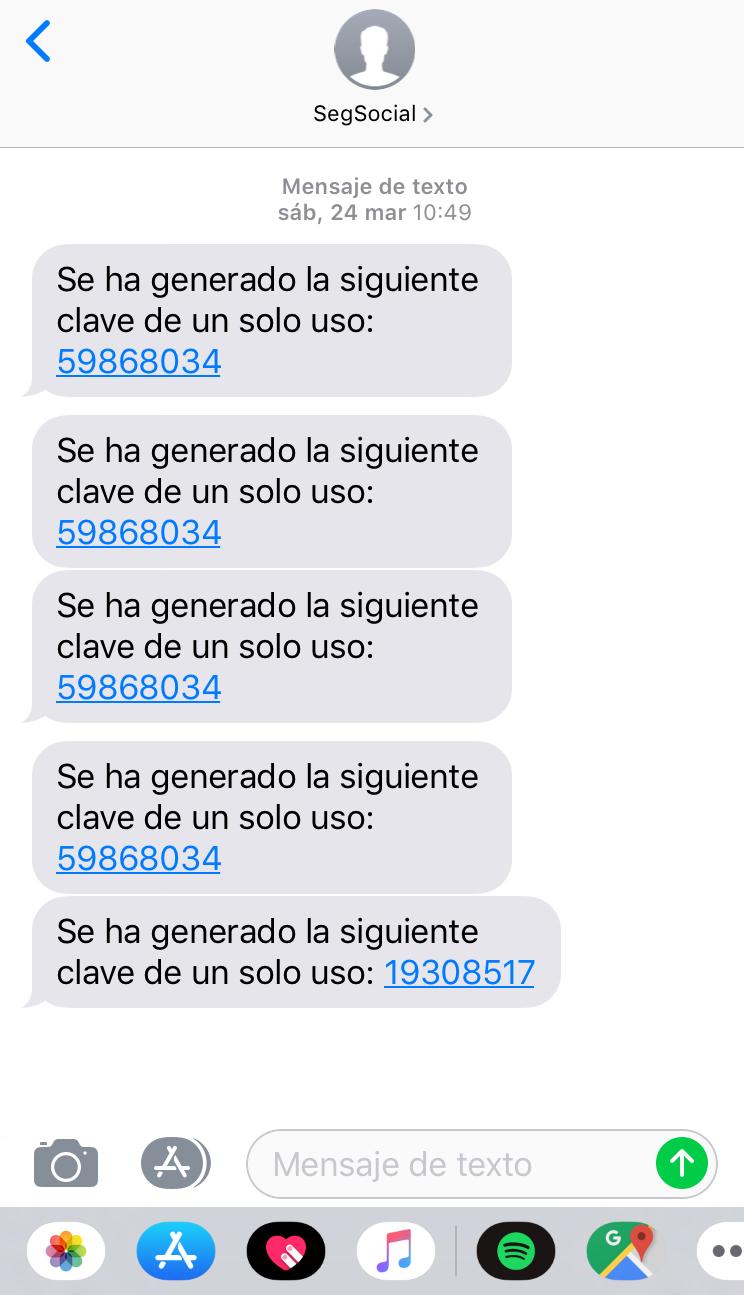 verificación de usuarios a través de SMS