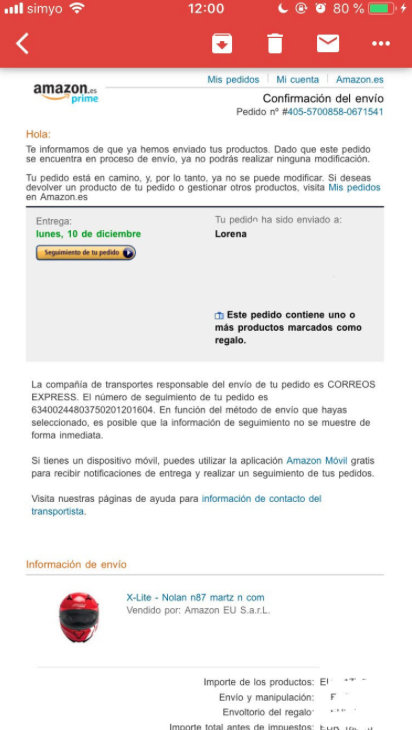 información emails imprescindibles