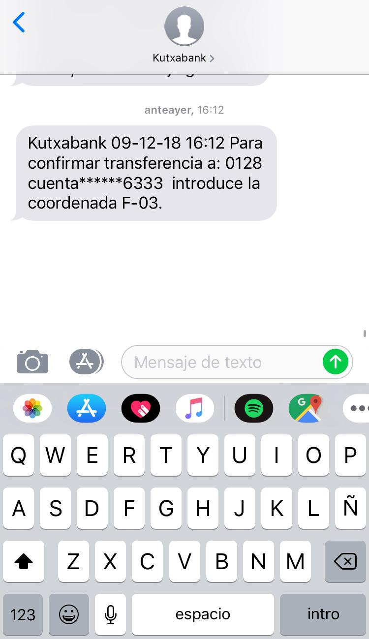 verificación de usuarios a través de SMS personalización