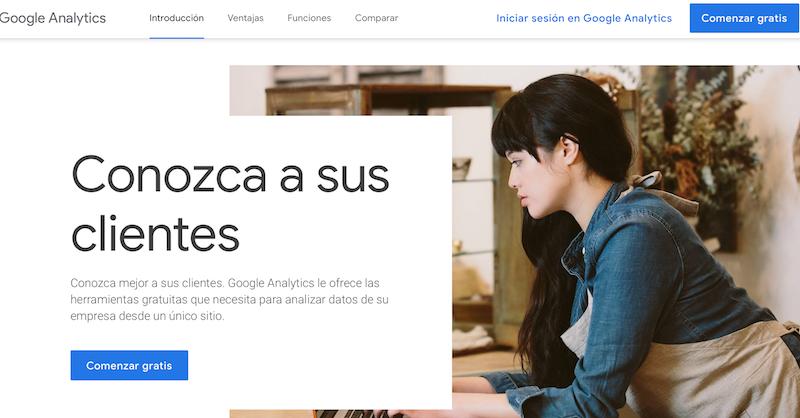 herramientas de analítica web Google Analytics