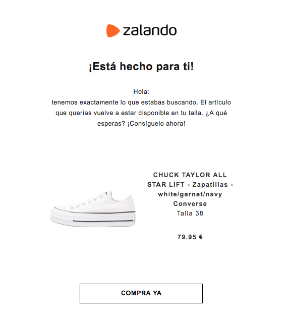 emails imprescindibles post compra