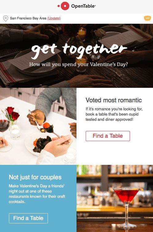 Email Marketing en San Valentín