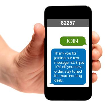 mejores textos para SMS Marketing código