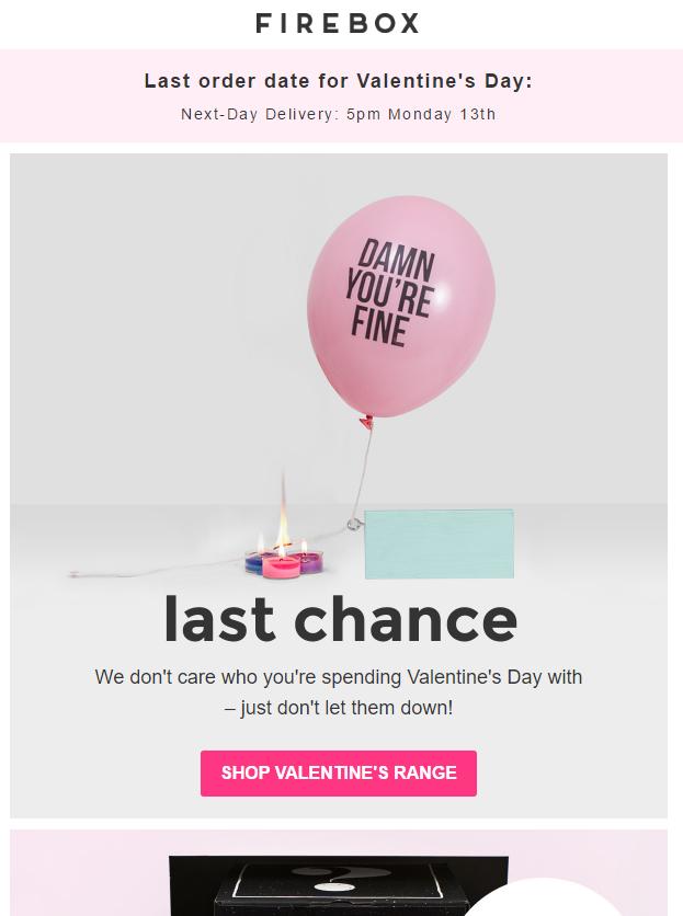 Email Marketing en San Valentín ideas
