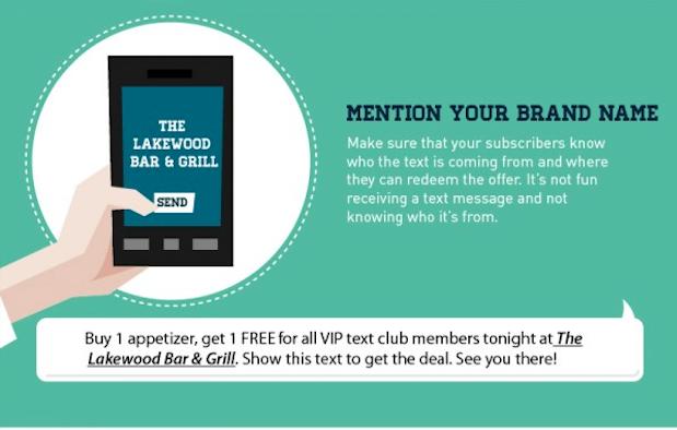 mejores textos para SMS Marketing nombre de la marca