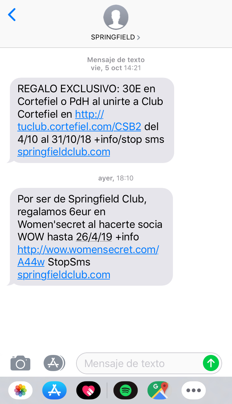 SMS Marketing intrusivo