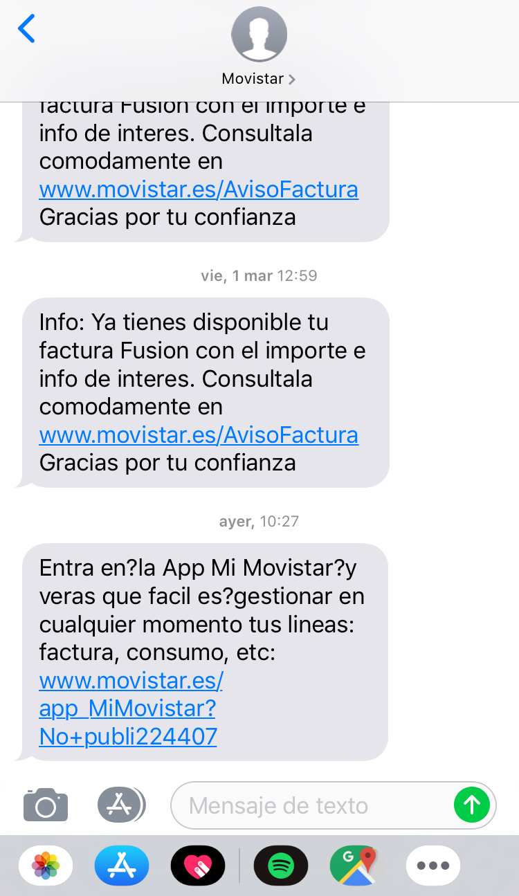 SMS Marketing intrusivo