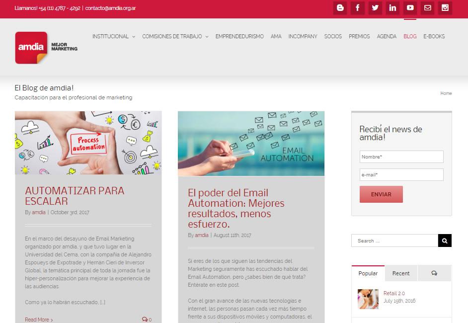 blogs de Email Marketing en LATAM