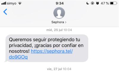 CTAs para tu estrategia de SMS marketing fidelizar