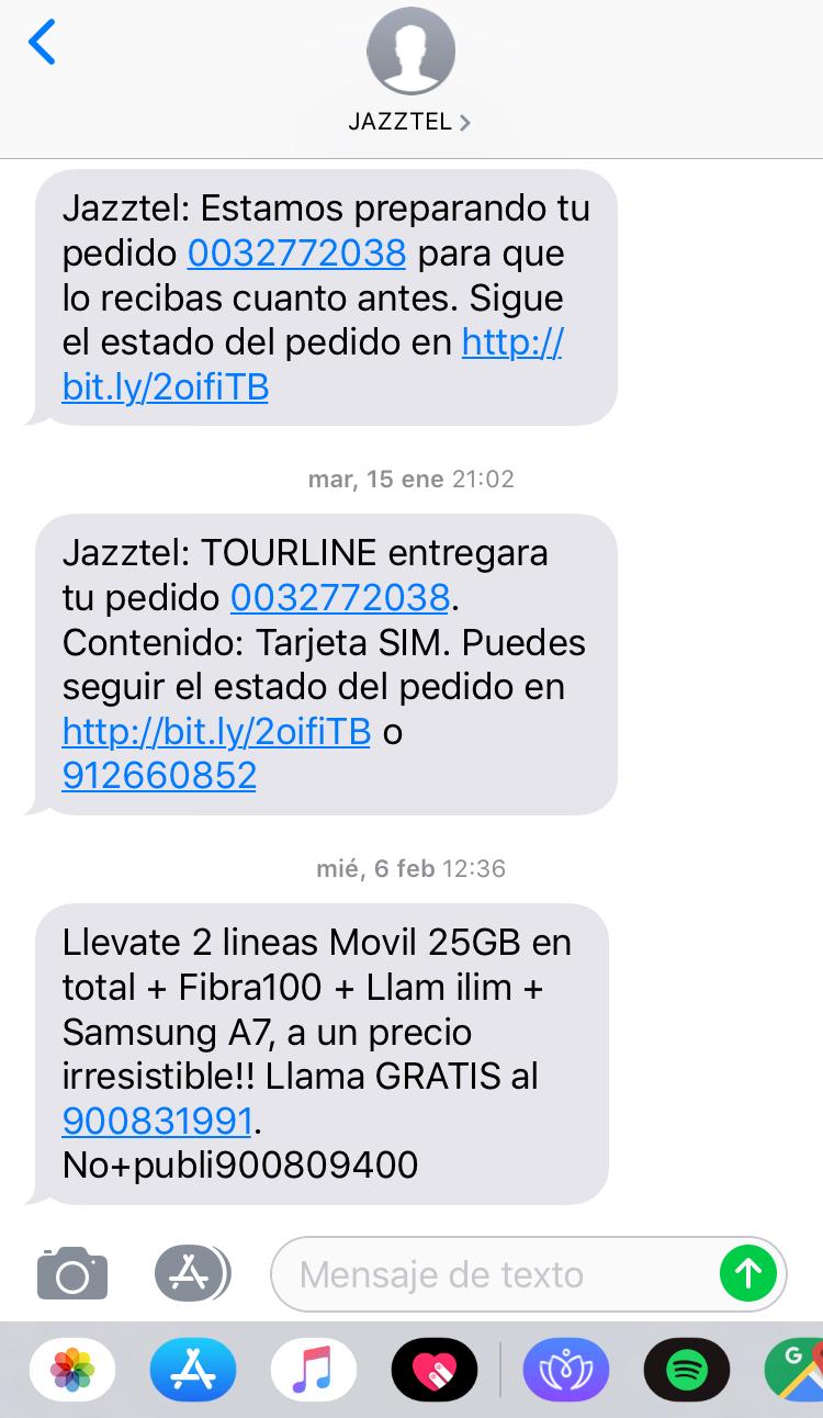 enviar mensajes de texto masivos