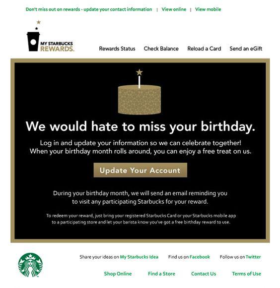 win-back más eficaces Starbucks