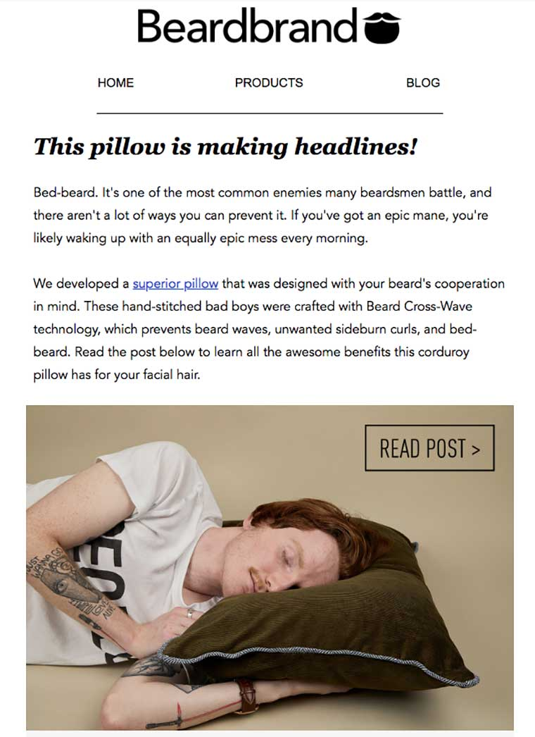 humor en las campañas de email marketing bdebarrand