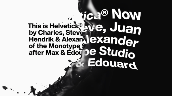 Helvetica Now actualizaciones