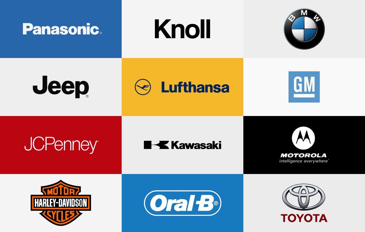 Helvetica Now marcas