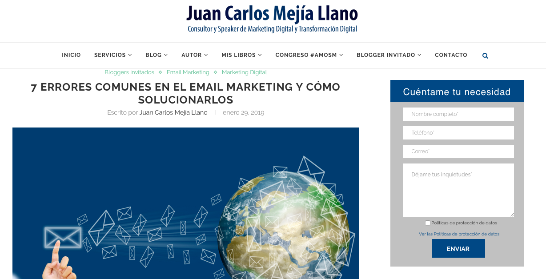 blog juan carlos mejía