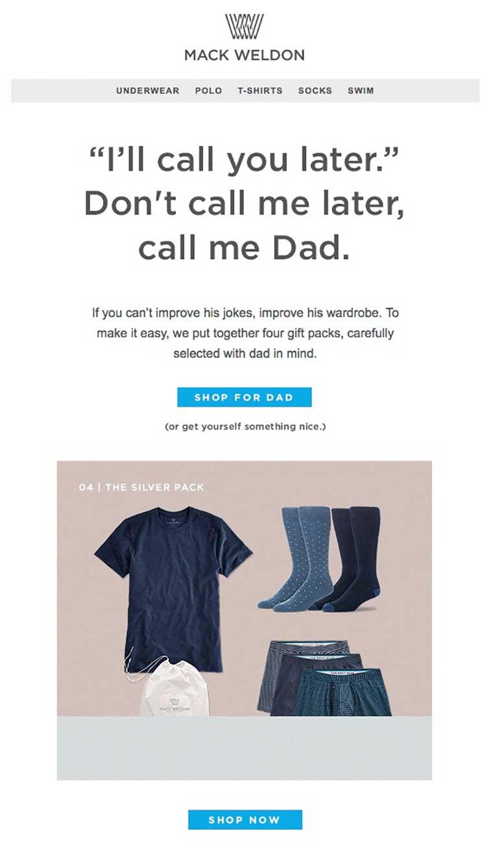 humor en las campañas de email marketing mack