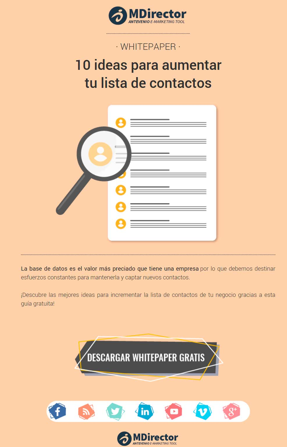Email marketing VS. mailing masivo mdirector