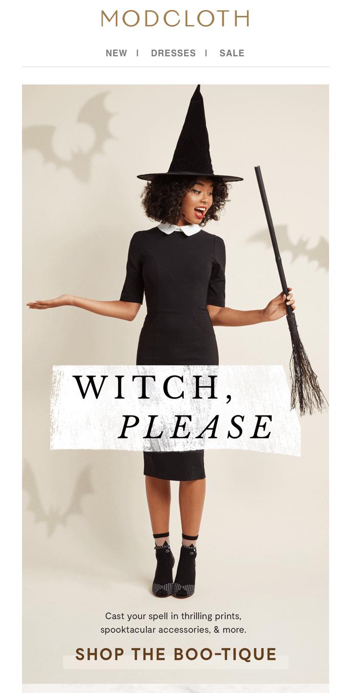 humor en las campañas de email marketing halloween