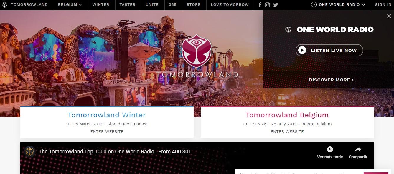 Marketing Automation para festivales de música: Tomorrowland