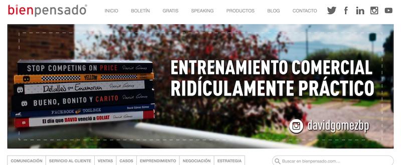blogs de marketing automation en Colombia: Bien Pensado