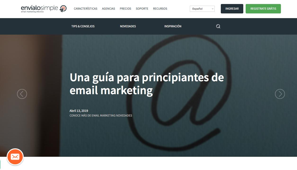 blogs de Marketing Automation en Argentina envíalo simple