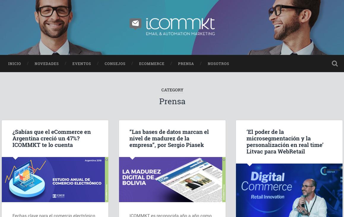 blogs de Marketing Automation en Argentina icommkt