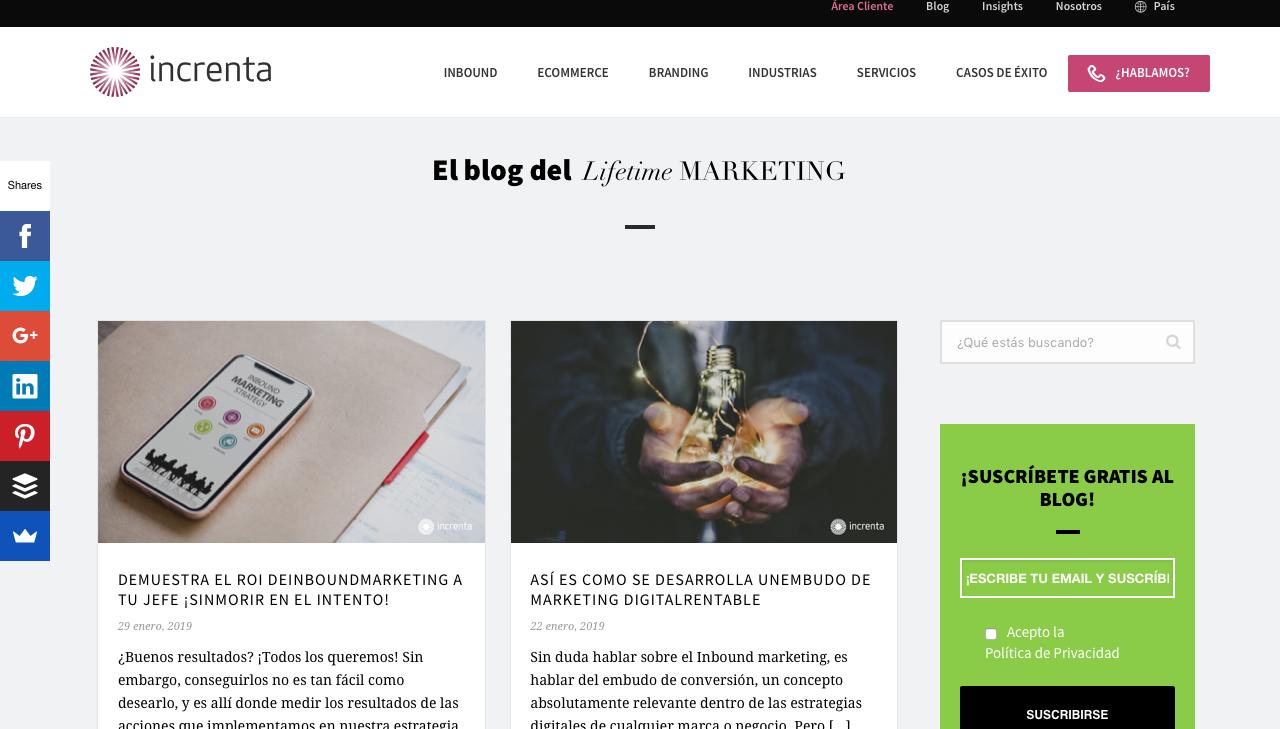 blogs de marketing automation en Colombia