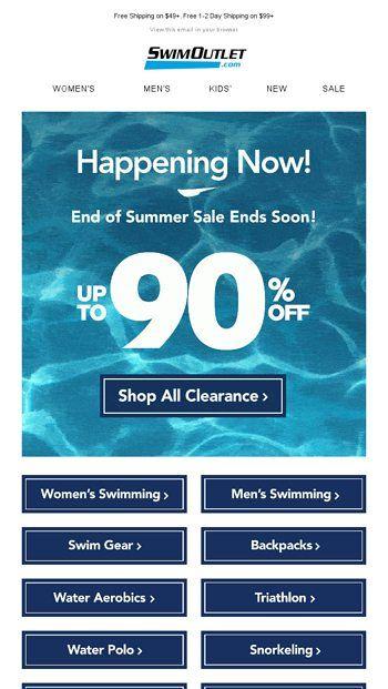 aumentar las ventas en verano con email marketing rebajas