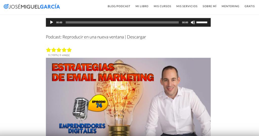 podcast sobre email marketing