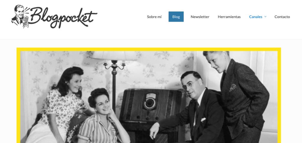 podcast sobre email marketing: Blogpocket