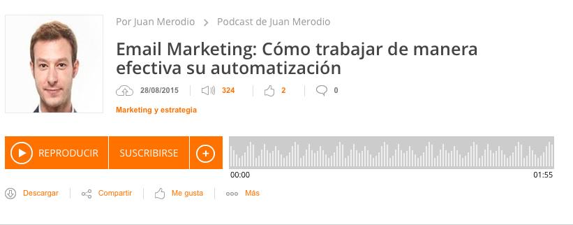 Juan Merodio podcast
