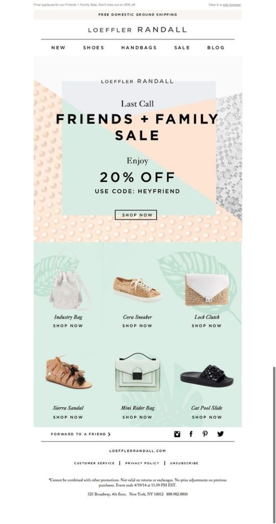campañas de email marketing para las rebajas