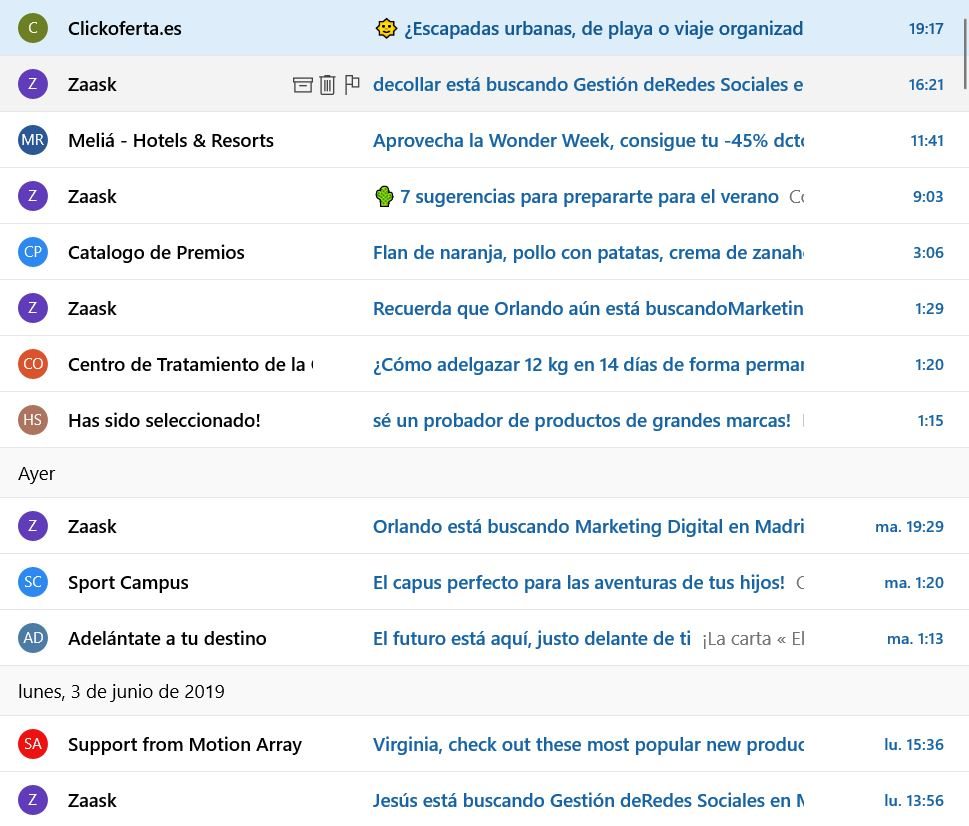 adaptar el email marketing a mobile con un asunto trabajado
