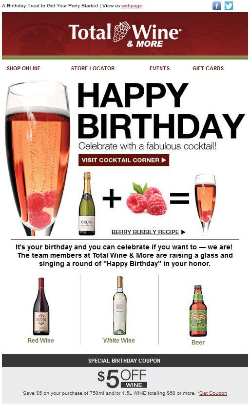 emails para felicitar cumpleaños: ofrecer otros servicios