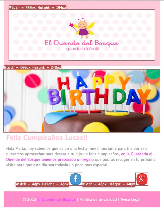 emails para felicitar cumpleaños: regalo misterioso