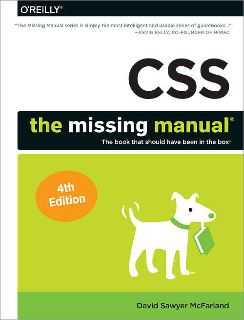 Libros de diseño web: CSS: The Missing Manual