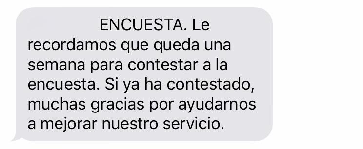 encuestas por SMS