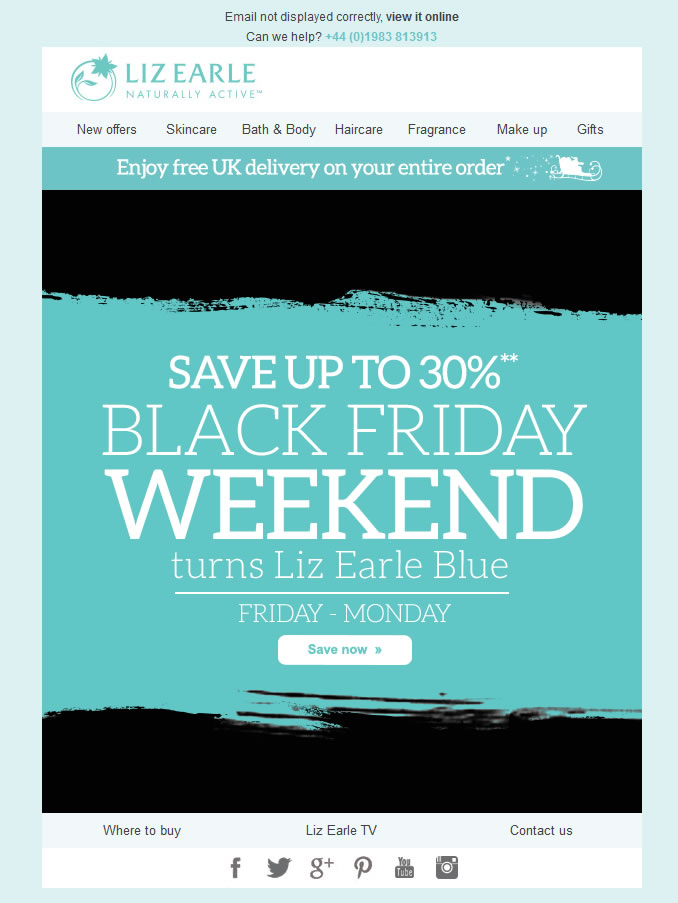 Secuencia de emails para preparar el Black Friday: Incluir el cyber monday