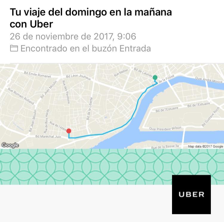 Geolocalización y email marketing: Uber