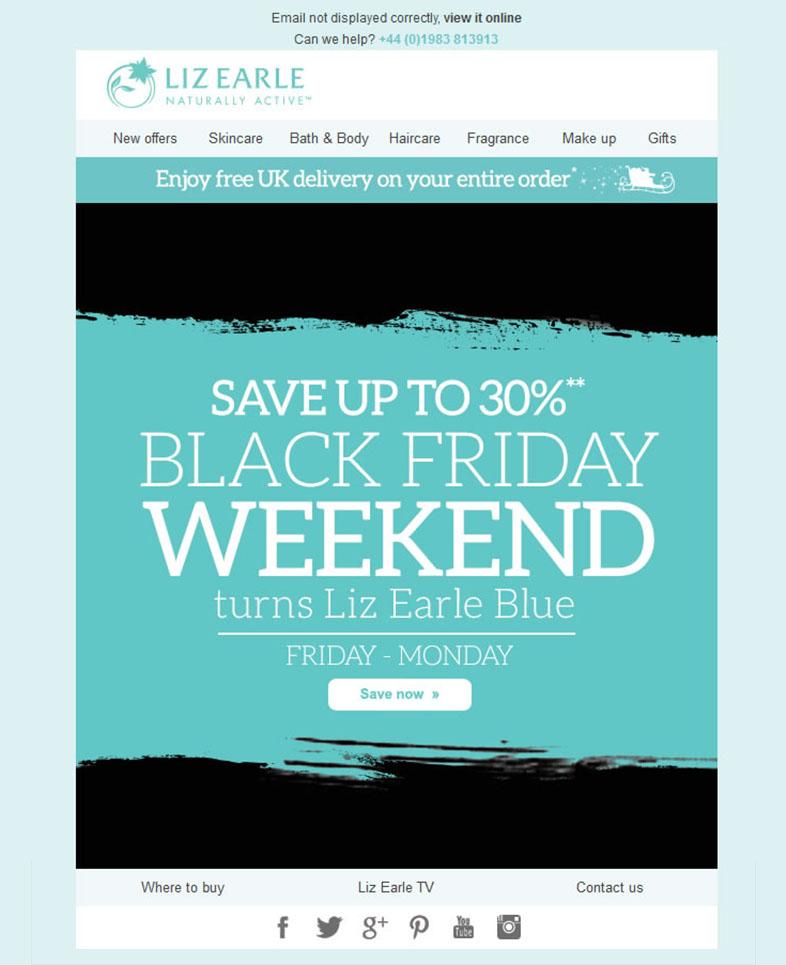 Email marketing para el Black friday