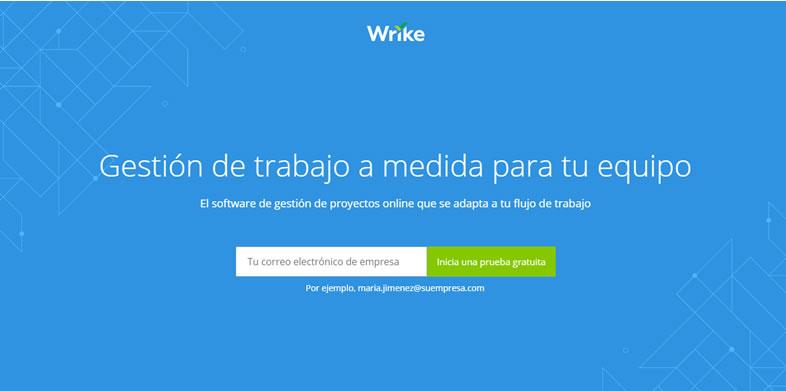softwares de gestión de proyectos: Wrike