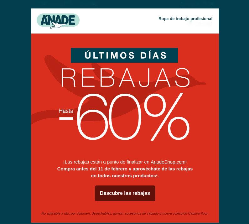 Newsletter de Anade