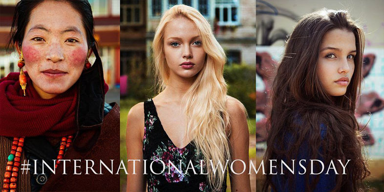 Día Internacional de la mujer para marcas de lujo