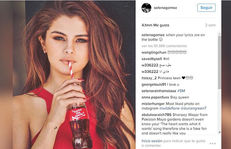 redes sociales y Coca Cola