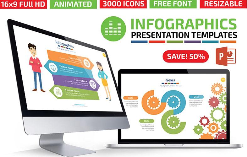 Animated Editable Infographics