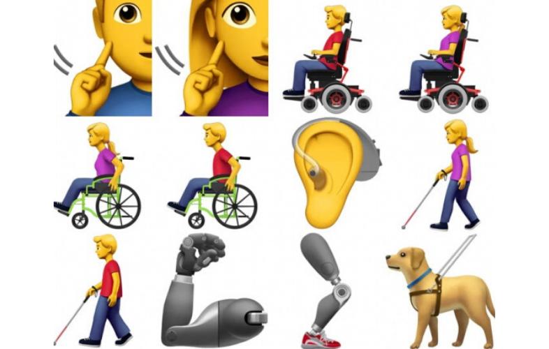 Emojis inclusivos
