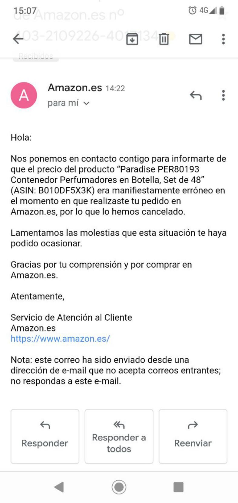 atención-al-cliente-con-email-marketing-Amazon
