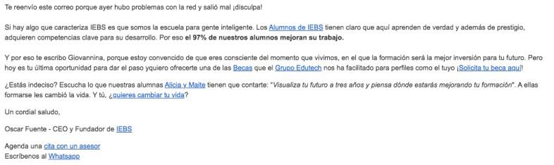 persuasion en email marketing